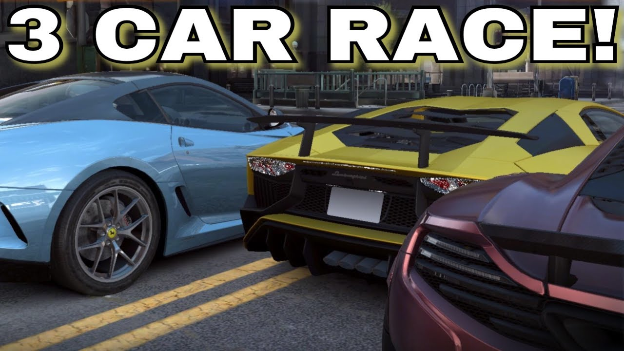 3 CAR LIVE RACES, GOLD KEYS, INVISIBLE CARS, CRASHES AND MORE WE ...