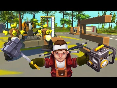 Scrap Mechanic - A Lesson From Squid