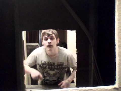 Peeping TOM HOLE behind mirror in MOTEL ROOM!!!!