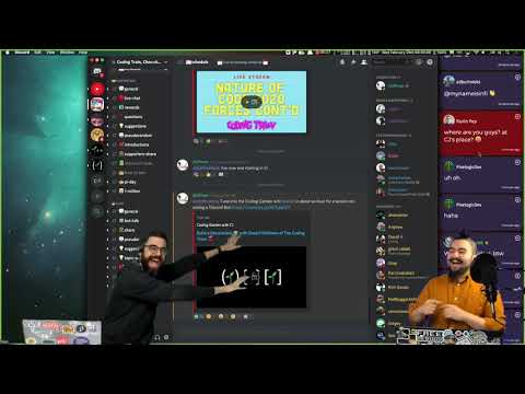 Build A Discord Bot 🤖 With Daniel Shiffman Of The Coding Train 🚂