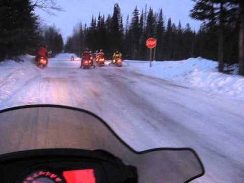 Snowmobiling At Its Best Mercer,WI