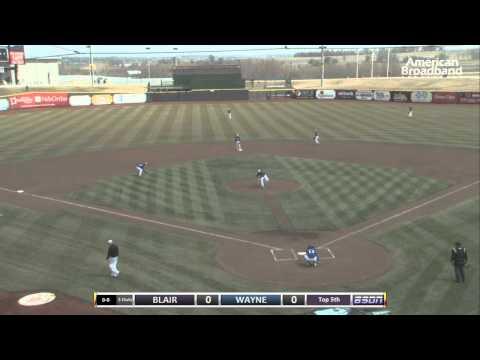 BSDN Live - Blair vs Wayne Varsity Baseball 2013