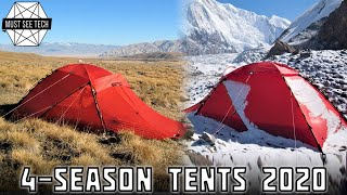 10 Best 4-Season Tents that Provide Warm Shelters for Winter Camping