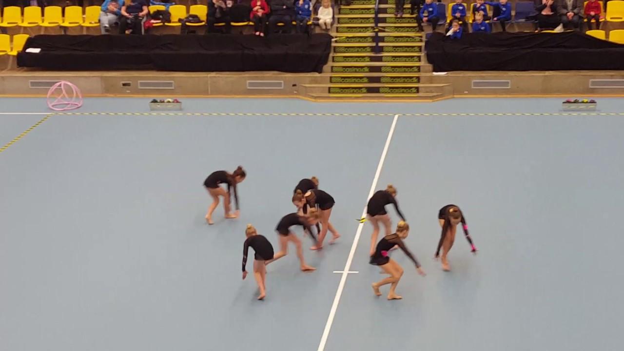 DM 1. Runde Silkeborg - Grand Prix Gymnastik 4-2-2017 - YouTube