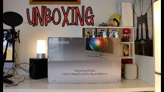 UNBOXING Monitor Samsung 28 pollici 4K Ultra HD, 60 Hz, 1 ms