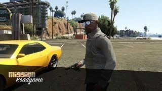 Grand Theft Auto 5 Online - GTA V Gameplay Mission Roadgame - No Commentary