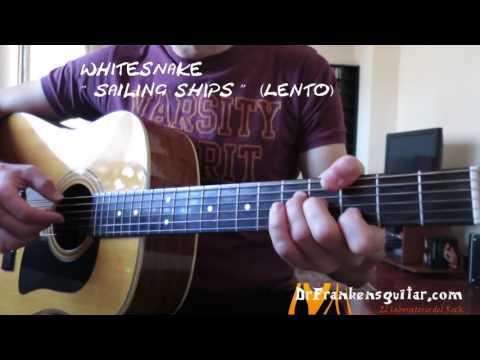 WHITESNAKE Sailing ships (Guitar Cover)