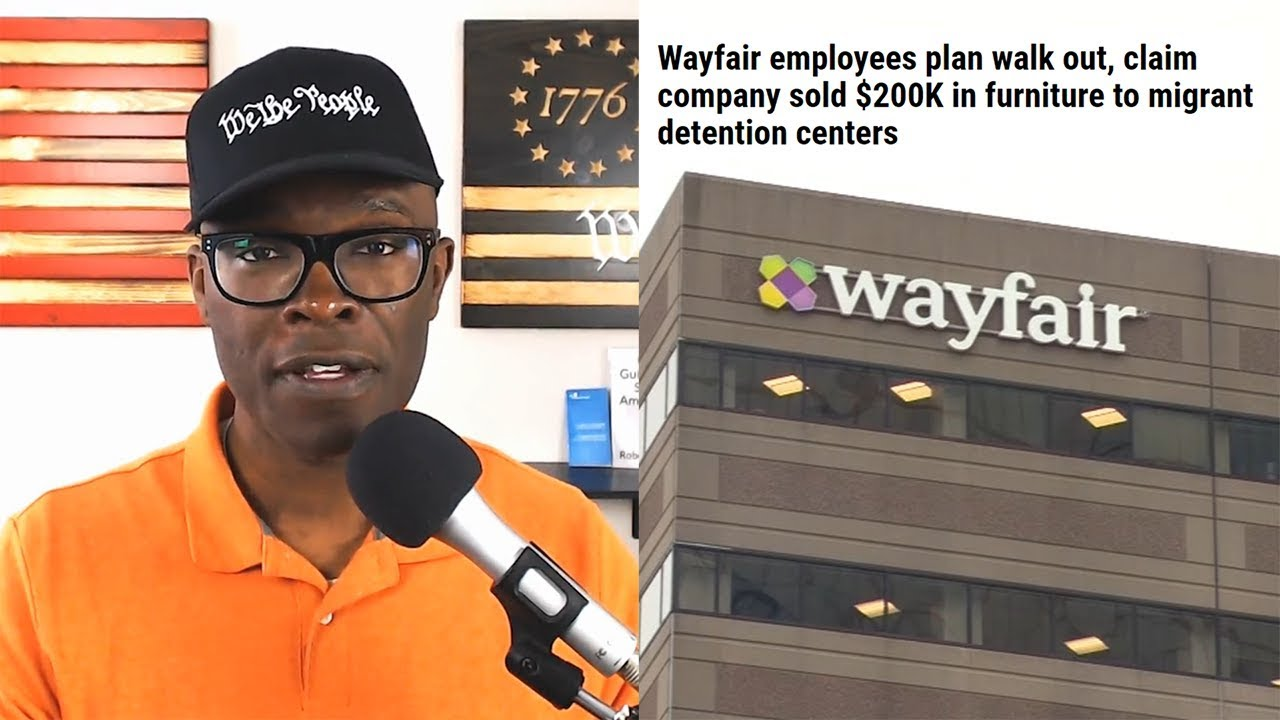 Wayfair employees plan walkout after company's sales to detention centers