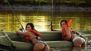 Девушки на рыбалке // Приколы
