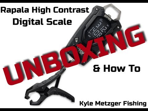 Rapala high contrast 50lb fish scale review and how to youtube.