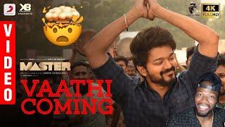 Download Master - Vaathi Coming Video | Thalapathy Vijay | Anirudh Ravichander | Lokesh Kanagaraj (REACTION)