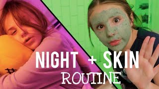 Night Time Routine | Skin Care Routine | What's On My iPhone | Piper Rockelle