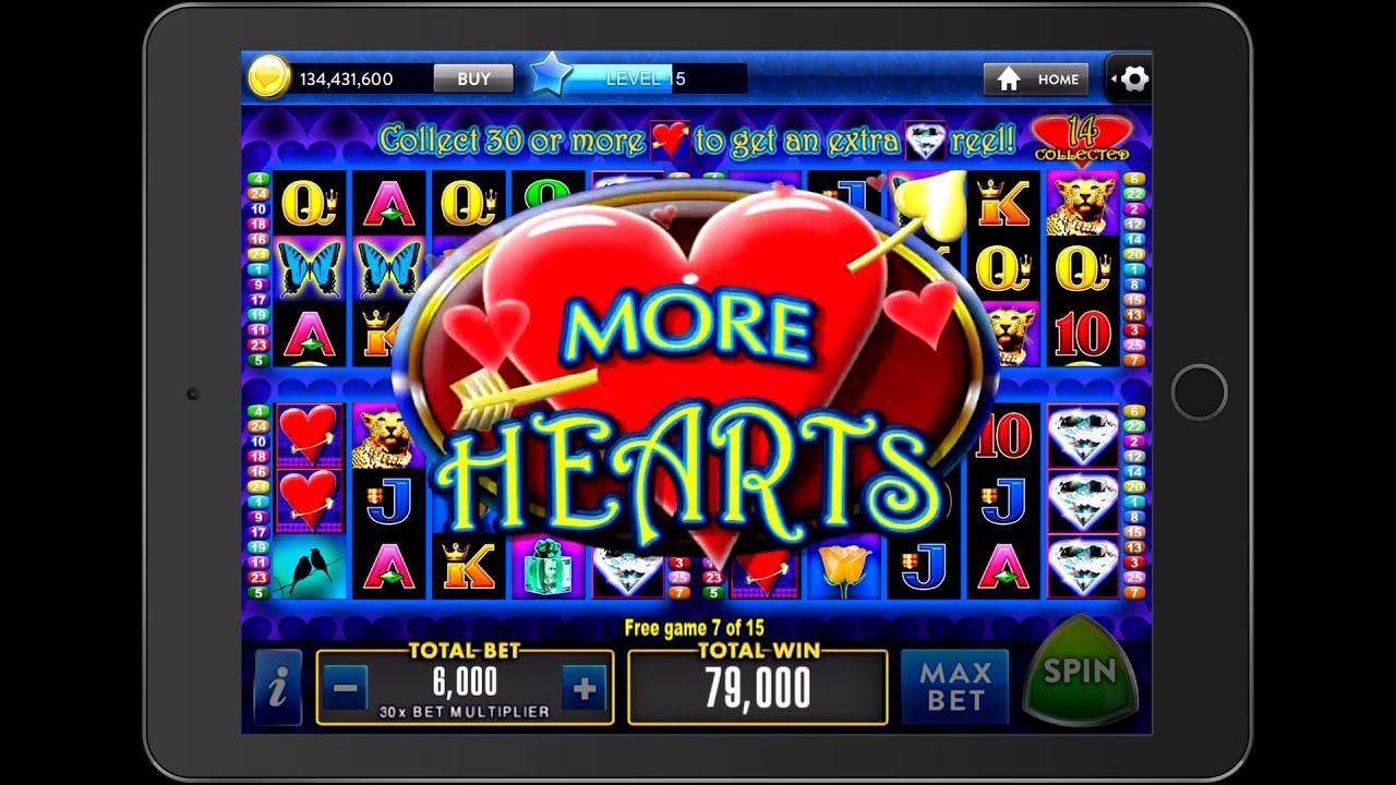 Hearts Casino Game