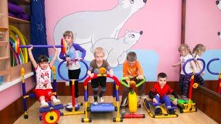 Детские тренажеры - видеообзор. Купить детские тренажеры с доставкой!