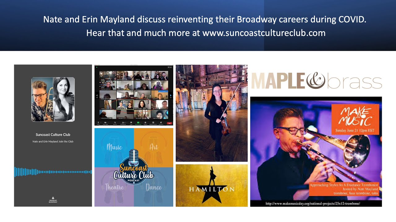 Interview: from Hamilton to Ed Kleinhammer, our life during Covid, and NYC's best pizza!