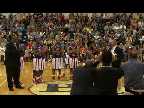 Globetrotter Ant Atkinson Honored at Barton College