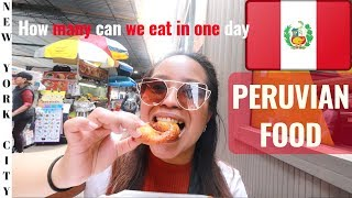 PERUVIAN Food in NEW YORK | NYC Peruvian Food Tour