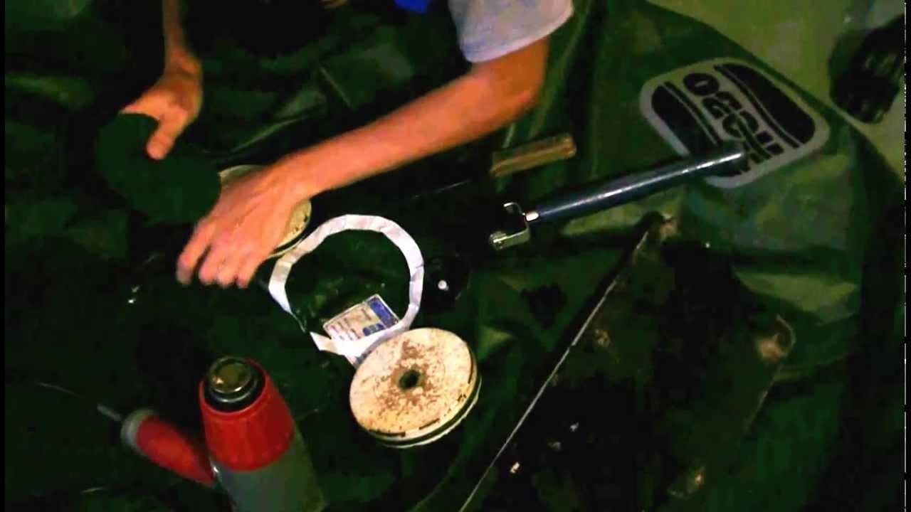 Как установить заплатку на надувную лодку ПВХ