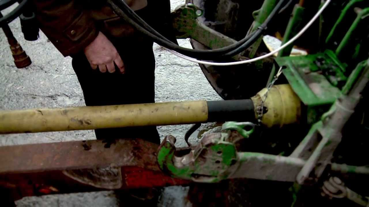 PTO shaft accident