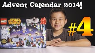 2014 LEGO STAR WARS Advent Calendar DAY 4 - Set 75056 + Question of the Day!