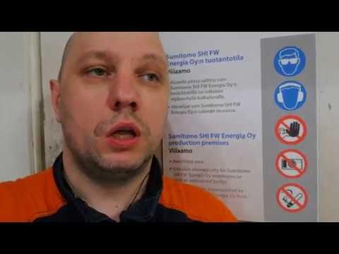 Сварщик в Финляндии, краткий отчёт.