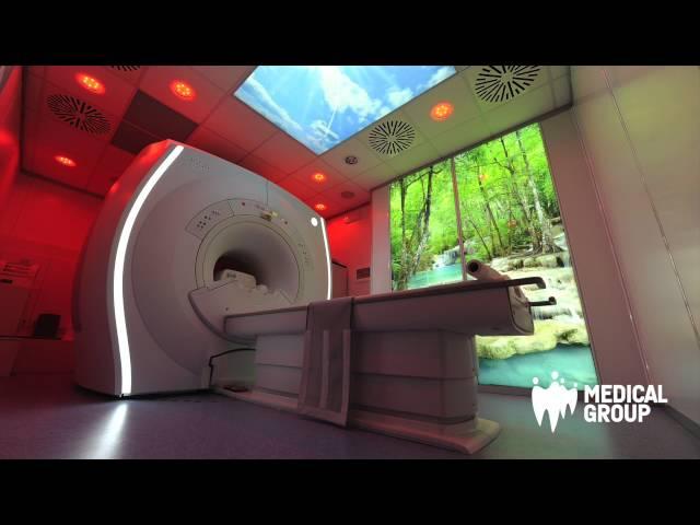 Risonanza Magnetica Alto Campo 1 5T con cromoterapia