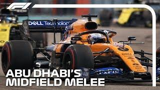 Abu Dhabi's Midfield Melee | 2019 Abu Dhabi Grand Prix