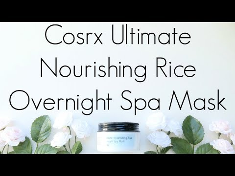 review:-cosrx-ultimate-nourishing-rice-overnight-spa-mask