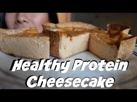 Easy High PROTEIN 550 Calorie WHOLE Cheesecake Recipe! Low Carb, Low Fat