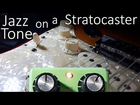 Make a Stratocaster sound Hollowbody-ish with a Tubescreamer