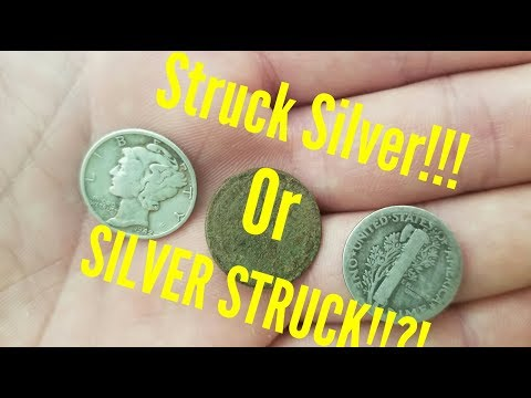 Metal Detecting Silver with the Alabama Diggers Group!!!