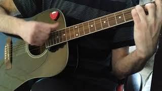 Людка малолетка на гитаре Cover