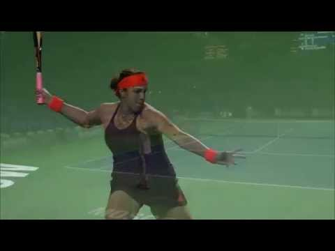 Pavlyuchenkova 2015 Moscow Second Round Hot Shot