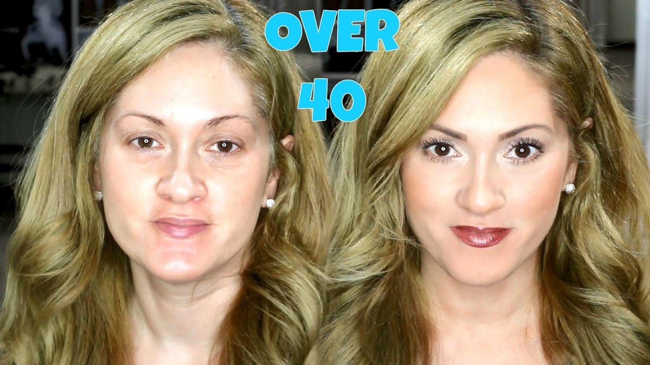 quick & easy everyday makeup - over 40 - youtube