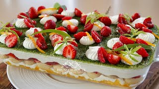 Strawberry Lemon Tiramisu – Bruno Albouze