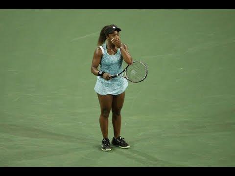 2018 Indian Wells Second Round   Sachia Vickery vs Garbiñe Muguruza   WTA Highlights