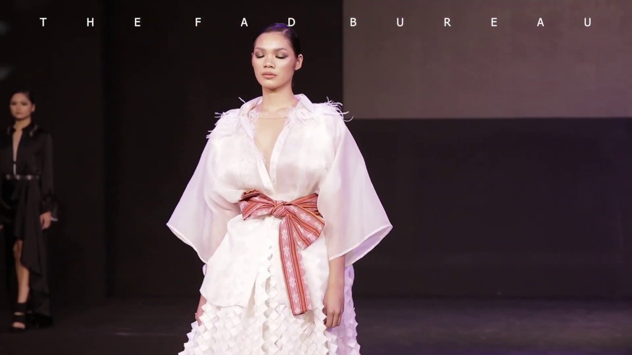 Philippine Fashion Revolution 2019 - JEROME SALAYA ANG Collection