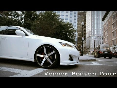 Vossen World Tour Boston Lexus IS250 CV3 Wheels Rims