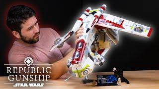 LEGO Star Wars UCS Republic Gunship REVIEW | Set 75309