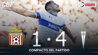 Curicó Unido 1 - 4 U. Católica | Campeonato AFP PlanVital 2019 Segunda Fase | Fecha 8 | CDF