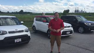Kia Soul trim level options at Federico Kia in Wood River, IL