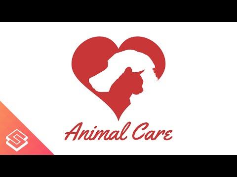 Inkscape Tutorial: Simple Dog & Cat Silhouette Logo