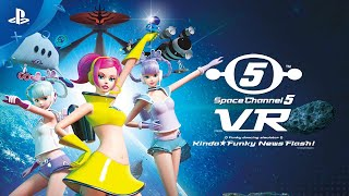 Space Channel 5 VR - Kinda Funky News Flash! - Launch Trailer | PS4