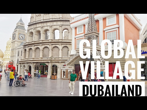 Chikkaness Travels - Global Village Dubailand