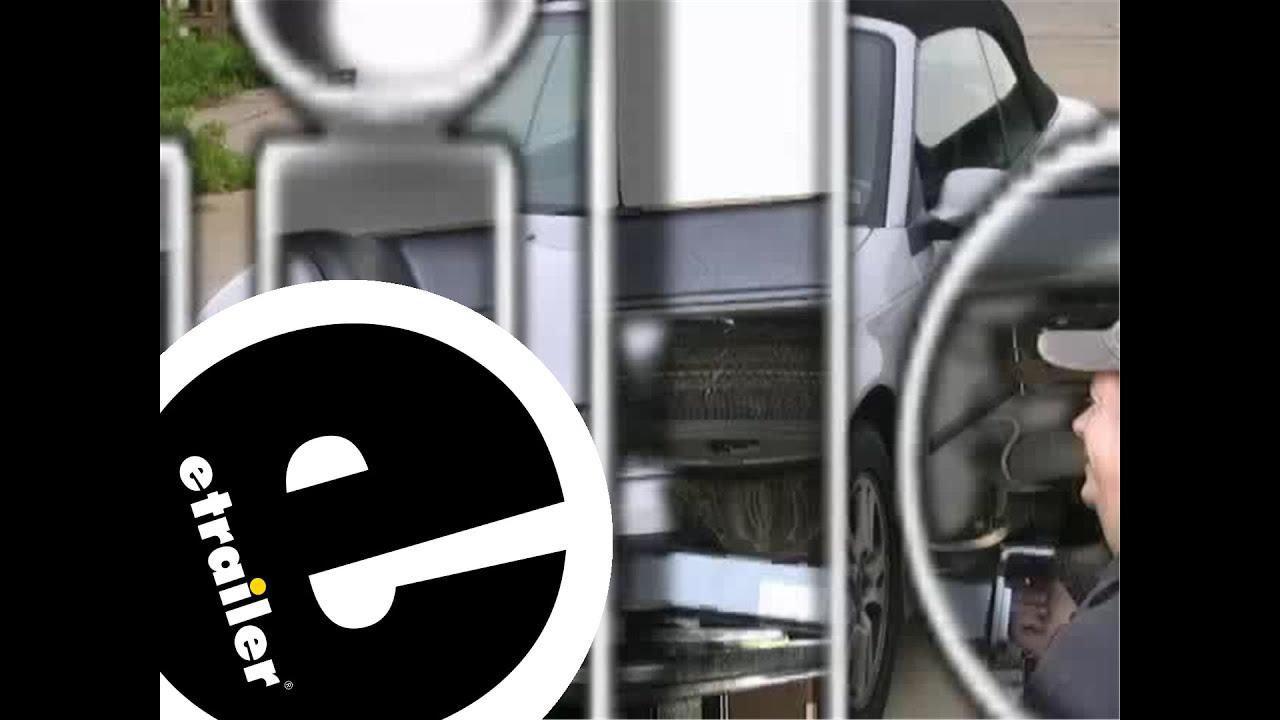 hight resolution of trailer hitch installation 2005 saab 9 3 etrailer com
