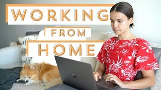 How to Be Productive Working From Home | Ingrid Nilsen