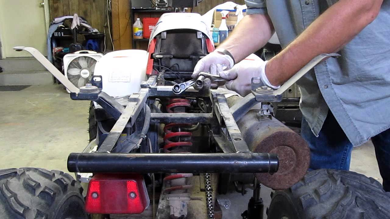 ATV Rear Shock Replacement