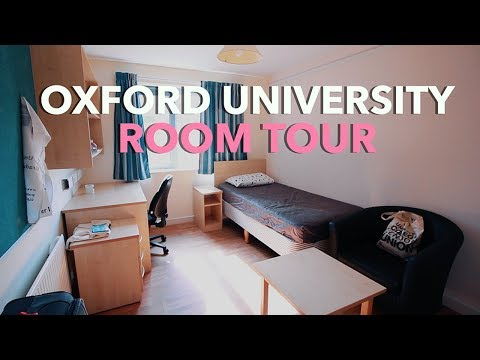 Oxford University Room Tour | Postgraduate Accommodation 201