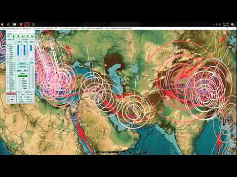2/08/2018 -- Multiple M5.6 Earthquakes spread across planet + New Deep EQ activity