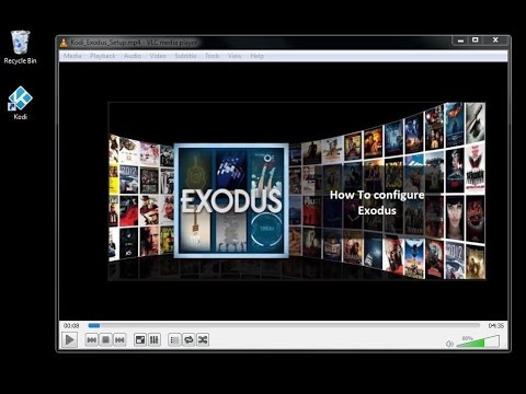 how to add exodus to kodi library